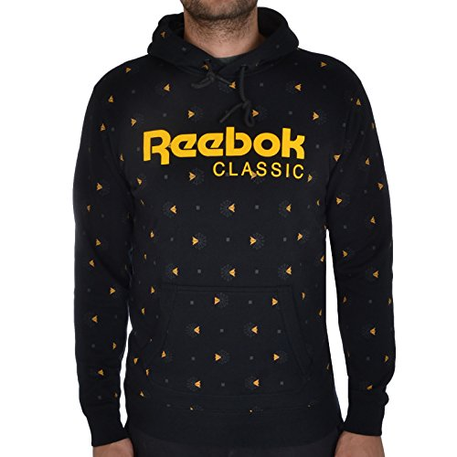 Reebok Classic Mens F All Over Fleece Hoodie - M for sale  Delivered anywhere in UK
