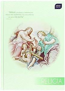 Interdruk BRA5REL Cuaderno de Tapa Dura, tamaño A5, 64 #, Estudios religiosos