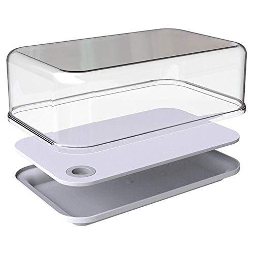 Mepal servierbox modula klein, Plastik, Weiß 27.1 x 17.39 x 10.3 cm