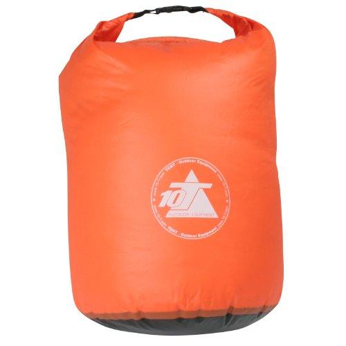 41UjJSuV3HL. SS500  - 10T Outdoor Equipment 10T WPD 35 - Packsack, 35 l, Watertight, Light Version, with Carry Handle, Orange Ø35x60cm…