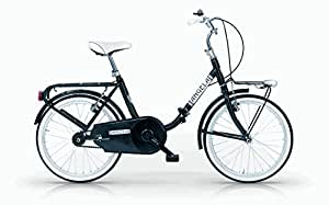 Mbm - Angela 24'' Bicyclette Vélo Pliant Folding Bike Noir