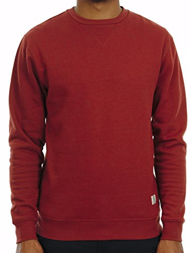 Herren Sweater DC Rebel 3 Crew Sweater Orange