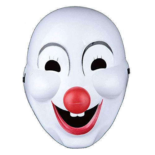 YaPin Halloween Maskerade Maske Kindertag Lustige Gesichter Erwachsene Clown Dress Up Full Face Clown Maske