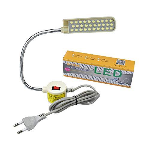 Bonlux 30 LED Bombilla Luz Fría Para Máquina Coser