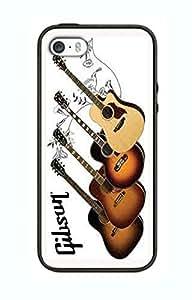 Case Schutzrahmen hülse Gibson Gitarre Gi12 Abdeckung für Iphone 6 Border Gummi Silikon Tasche Schwarz @pattayamart