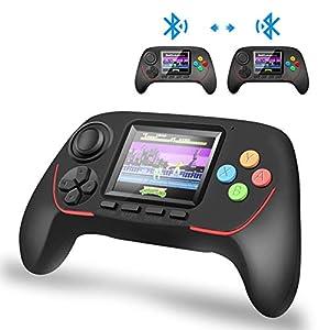 DZSF 16-Bit-Handheld Spielekonsole Bluetooth 2.4G Online Combat HD Rocker Eyecare Built-In 788 in 1 Game Player Für Kinder