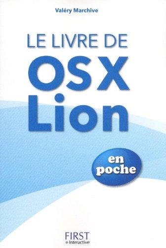 LIVRE D'OS X LION EN POCHE par VALERY MARCHIVE
