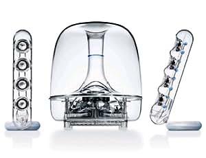 Harman Kardon Soundsticks III LED Desktop Wired Speaker System - Transparent
