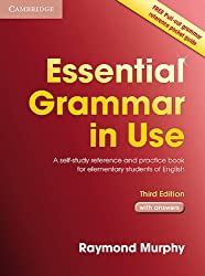 Essential Grammar in Use. English Edition with answers: A self-study reference and practice book for elementary students of English