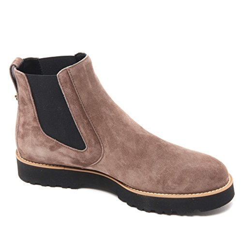 B5902 polacchino donna HOGAN H259 scarpa marrone chiaro shoe boot woman Marrone chiaro