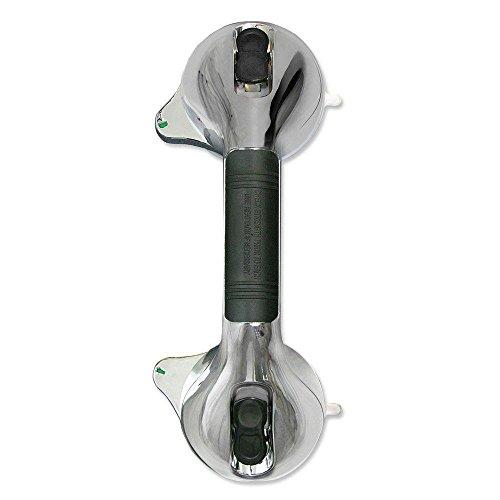 Griff Saugnapf Dusche Griff Haltegriff für Badezimmer Stange Saugnapf-System mit Staubabsaugung sicheren (Staubabsaugung-system)
