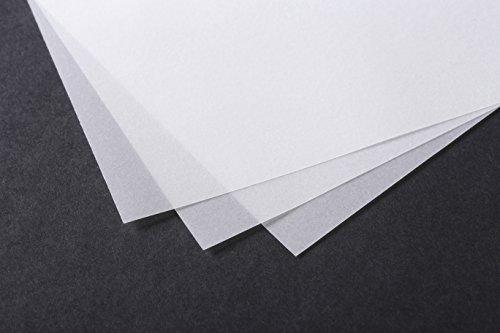 Clairefontaine 96505C Transparentpapier Ries, 500 Blatt, Din A4, 21 x 29.7 cm, 70/75 g Packung,...
