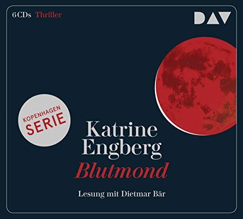 Blutmond – Ein Kopenhagen-Thriller: Lesung mit Dietmar Bär (6 CDs)