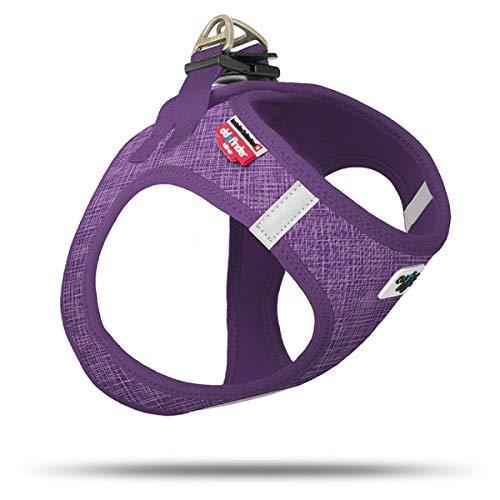 Curli Vest Geschirr Air-Mesh Linen Lilac Special Edition SE19 SE-Lil Größe XS von mylittledog