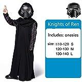 MSSJ Abbigliamento Carnevale Star War Storm Trooper Darth Vader Anakin Skywalker Costume da Festa in Maschera Abbigliamento Mantellina Maschera S Cavalieri di Ren