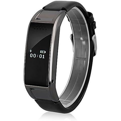 Diggro D8S - Reloj Pulsera Inteligente Smartwatch (Podómetro, Bluetooth, Llamada Recordatorio, Monitor de Sueño Deporte, Compatible Con Android, IOS)