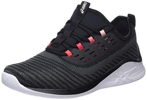 Asics Fuzetora Twist, Zapatillas de Deporte para Mujer, Negro (Black/Frosted Rose 001), 39 EU