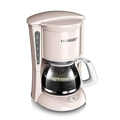 OOFAYWFD Vollautomatische Kaffeemaschine, 600W Hochleistungskaffeekanne-Teemaschine 0.6L...