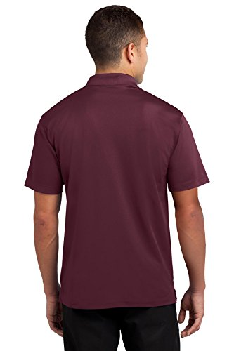 Sport-Tek Micropique ST650 Polo Sport-Wick Rouge - Bordeaux