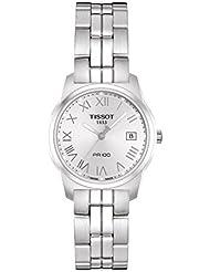 Tissot Damen-Armbanduhr Analog edelstahl Grau T0492101103300