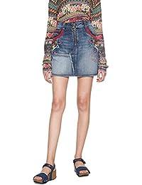 Amazon.fr   Desigual - Jupes   Femme   Vêtements 9521a032c2b6