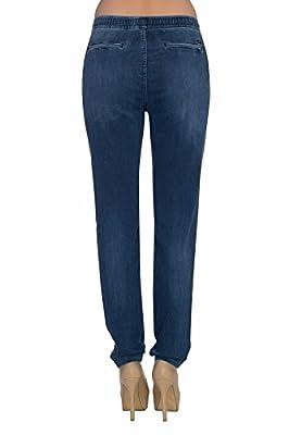 Lee Jogger Regular Waist Tapered Leg Women's Jogg Jeans Blue L31HGDMD