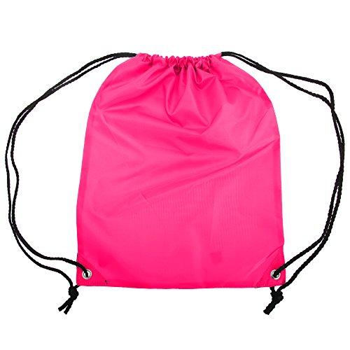 Ecke Mantel (Shugon Stafford einfärbiger Turnbeutel - 13 Liter (Einheitsgröße) (Dunkles Pink))
