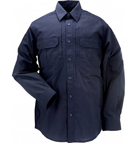 5.11 Tactical Series Taclite Pro Shirt Long Sleeve Shirt Homme Dark Navy FR : XS (Taille Fabricant : XS)