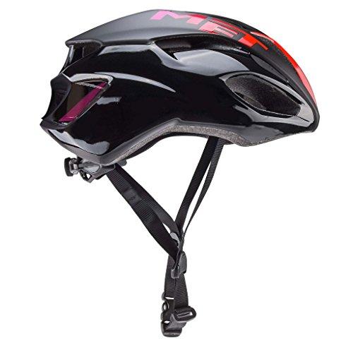 MET M3HM103S0NE1 Helm, Dames, Zwart / Roze, S