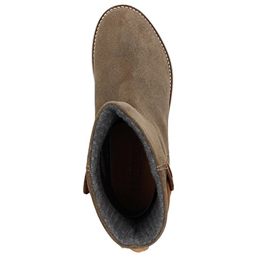 Napapijri0575400 - Stivali Donna Marrone (antilope brown)