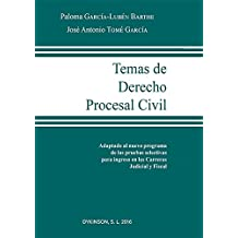 Temas de Derecho Procesal Civil.