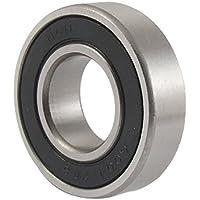 TOOGOO(R)6004-2RS Rodamiento de bola sellado de doble lado 20 mm x 42 mm x 12 mm