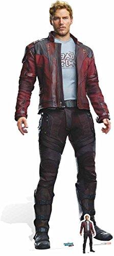 bar Chris Pratt ist Star-Herr, GOTG 2Vol Karton Ausschnitt, Mehrfarbig ()