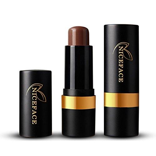 Highlighter Concealer Contour Stick Creme Wasserdicht Kosmetik, Scharfe Nase, Große Augen,Zarte Gesicht und Dicke Lippen