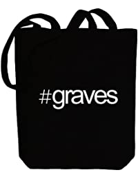Idakoos Hashtag Graves - Apellidos - Bolsa de Lona