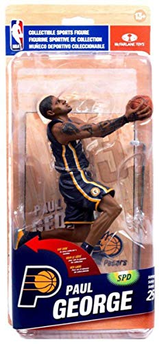 NBA Indiana Pacers Series 25 Figure - Paul George Blue Jersey
