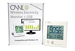 Owl USB CM160 Electricity Monitor Compatible with Windows 10