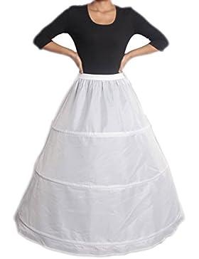 XYX Sottogonna sposa sottoveste da sposa abito da ballo petticoat Crinolina 3-hoop