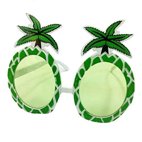 fish Ananas Gläser Obst Brillen Art-Strand-Party-Tropische Sommer-Augen-Dekoration Supplies