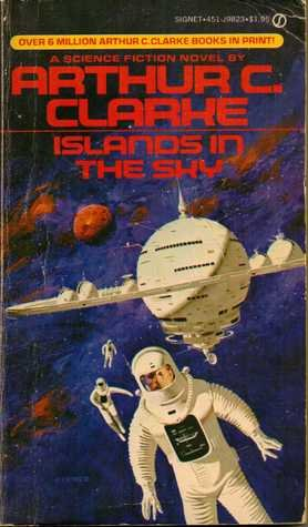 Cover of Islands in the Sky (Space Trilogy 1)