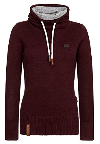 Naketano Female Knit Geh Weg Bordeaux Melange, XL