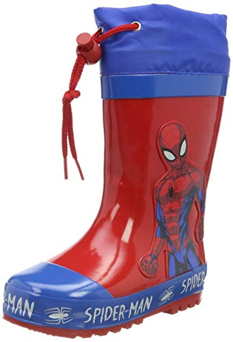 Spiderman Boys Kids Boots Rainboots Wellington