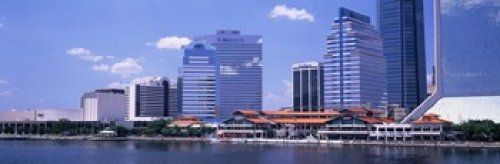 The Poster Corp Panoramic Images - Skyline Jacksonville FL USA Photo Print (91,44 x 30,48 cm) -
