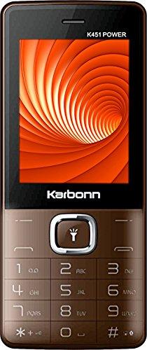 Karbonn K451 Power  Coffee Black