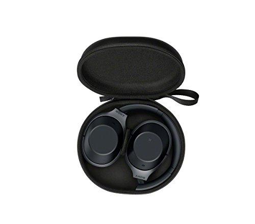 Sony MDR-1000X kabelloser High-Resolution Kopfhörer (Noise Cancelling, Sense Engine, NFC, Bluetooth, bis zu 20 Stunden Akkulaufzeit) schwarz - 10
