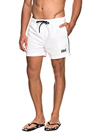 Superdry Badeshorts Herren BEACH VOLLEY SWIM SHORT Havana Orange