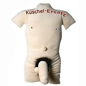 Kuschel-Ersatz Mann Kissen Kuschelersatz