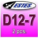 Estes - Estes rocket motors D12-7 (2 pcs.)