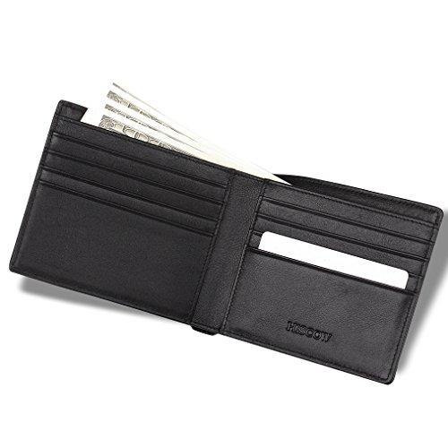 hiscow-cartera-doble-ala-8-ranuras-para-tarjetas-de-credito-piel-italiana-color-negro