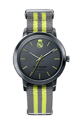 Real Madrid Montre Viceroy 40969-17 Textile Black Men